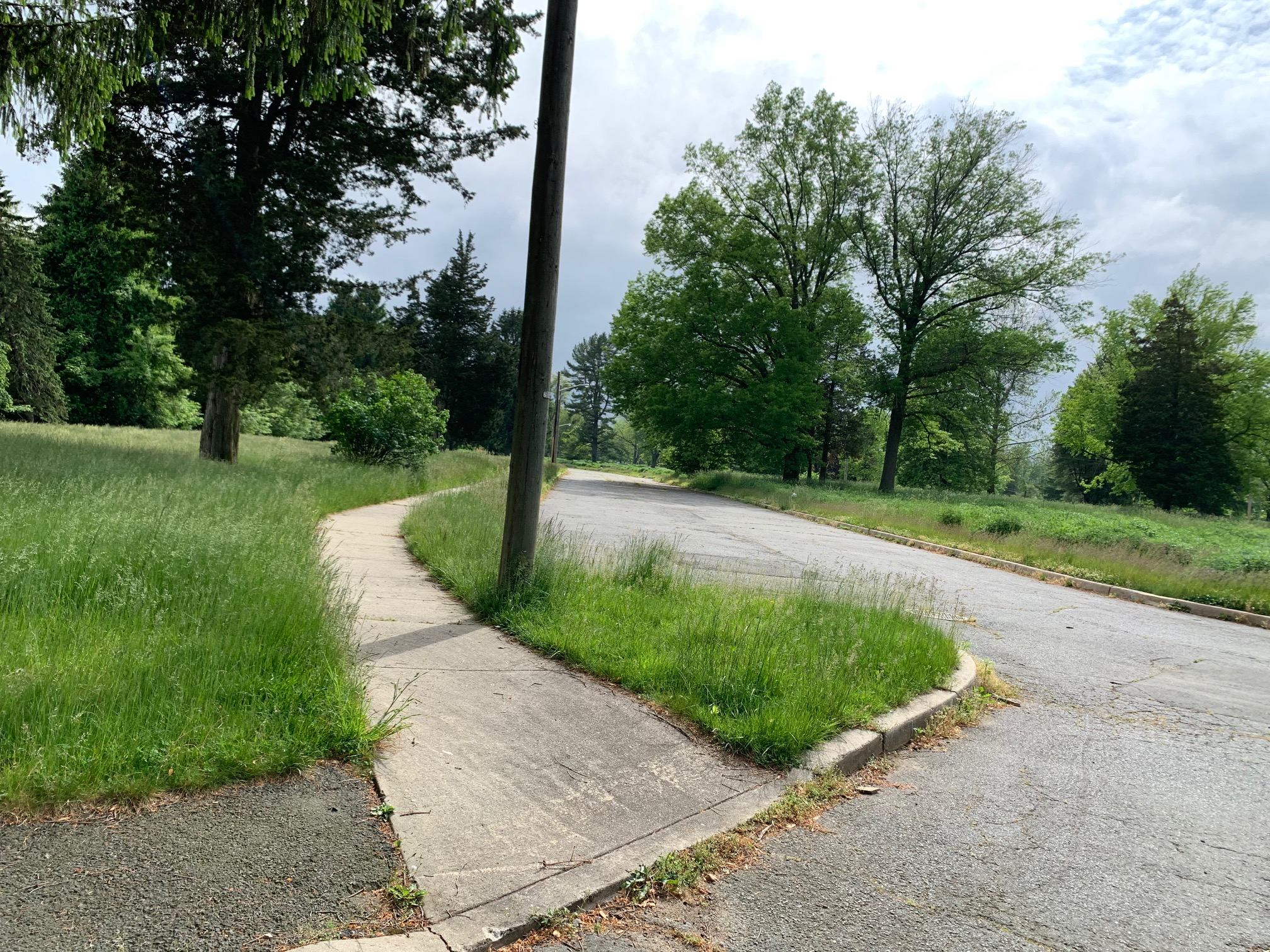 Butler Tract (Princeton's Unofficial Bike Training Ground)